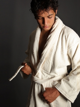Sadaf bathrobe towel