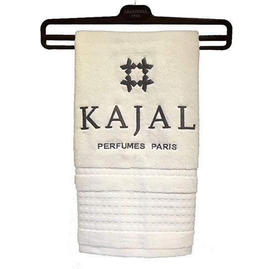 promotional towel for Kajal perfumes co.